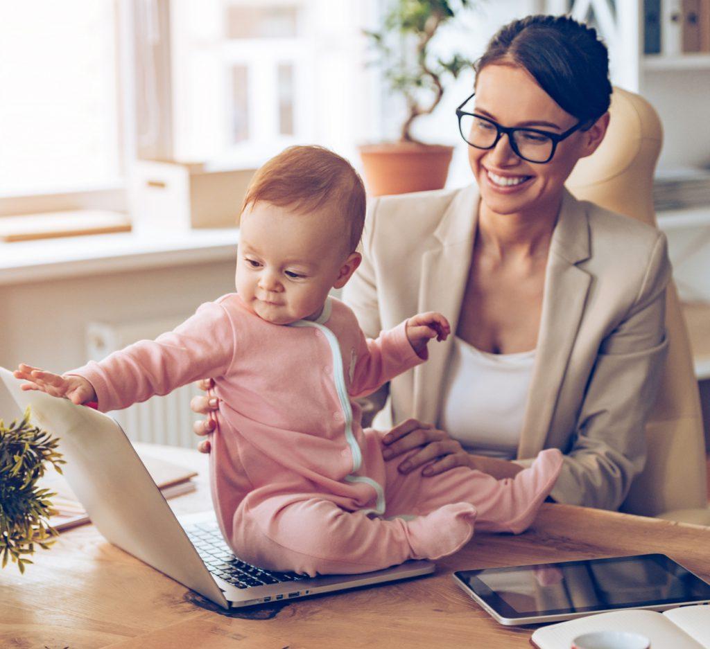 Como conciliar trabalho e maternidade?